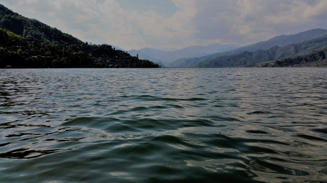 Lake in Pokhara